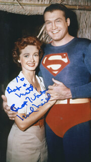 NOEL NEILL - AUTOGRAPHED INSCRIBED PHOTOGRAPH