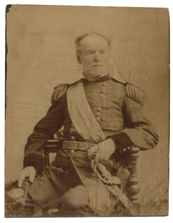 GENERAL WILLIAM T. SHERMAN - AUTOGRAPHED SIGNED PHOTOGRAPH 03/21/1888