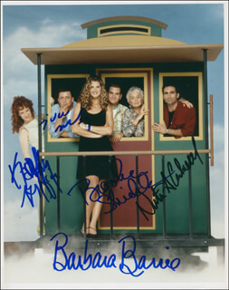 SUDDENLY SUSAN TV CAST - AUTOGRAPHED SIGNED PHOTOGRAPH CO-SIGNED BY: BROOKE SHIELDS, BARBARA BARRIE, JUDD NELSON, KATHY GRIFFIN, NESTOR CARBONELL