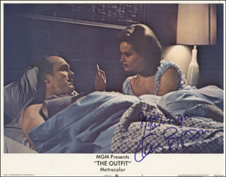 KAREN BLACK - INSCRIBED LOBBY CARD SIGNED