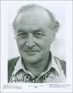 ROBERT LOGGIA - PRINTED PHOTOGRAPH SIGNED IN INK