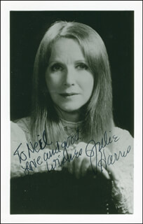JULIE HARRIS - AUTOGRAPHED INSCRIBED PHOTOGRAPH 10/14/1976