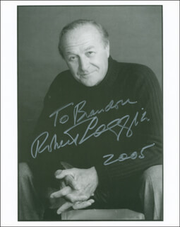 ROBERT LOGGIA - AUTOGRAPHED INSCRIBED PHOTOGRAPH 2005