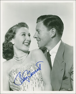 BETTY GARRETT - AUTOGRAPHED SIGNED PHOTOGRAPH