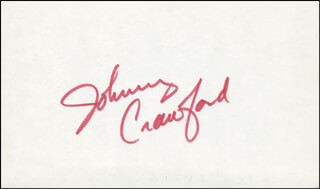 JOHNNY CRAWFORD - AUTOGRAPH