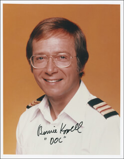 BERNIE KOPELL - AUTOGRAPHED SIGNED PHOTOGRAPH