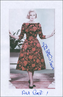EVA MARIE SAINT - PRINTED PHOTOGRAPH SIGNED IN INK