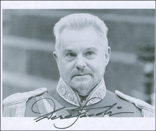 SIR DEREK JACOBI - AUTOGRAPHED SIGNED PHOTOGRAPH