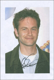 KIRK CAMERON - PRINTED PHOTOGRAPH SIGNED IN INK