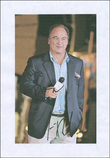 JAMES BELUSHI - INSCRIBED PRINTED PHOTOGRAPH SIGNED IN INK