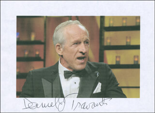 DANIEL J. TRAVANTI - PRINTED PHOTOGRAPH SIGNED IN INK