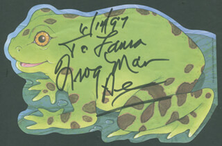 CLARENCE FROGMAN HENRY - INSCRIBED SIGNATURE 04/14/1997