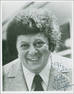 MARTY ALLEN - AUTOGRAPHED INSCRIBED PHOTOGRAPH