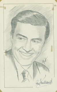 JOHN RAITT - ORIGINAL ART SIGNED CO-SIGNED BY: RAY MILLAND