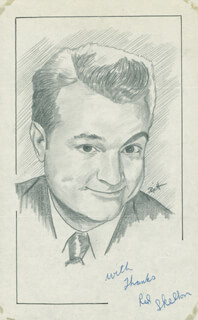 JOHN RAITT - ORIGINAL ART SIGNED CO-SIGNED BY: RED SKELTON