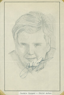 JOHN RAITT - ORIGINAL ART SIGNED CO-SIGNED BY: JACKIE COOPER