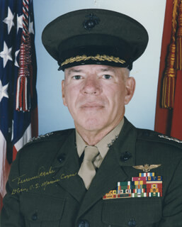GENERAL TERRENCE R. DAKE - AUTOGRAPHED SIGNED PHOTOGRAPH