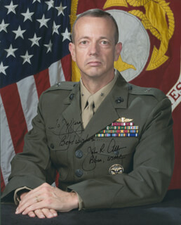 Autographs: GENERAL JOHN R. ALLEN - INSCRIBED PHOTOGRAPH SIGNED