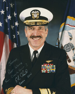 REAR ADMIRAL EVAN M. CHANIK - AUTOGRAPHED INSCRIBED PHOTOGRAPH