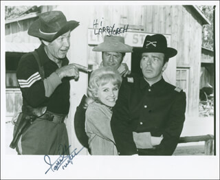 F TROOP TV CAST - AUTOGRAPHED SIGNED PHOTOGRAPH CO-SIGNED BY: LARRY STORCH, FORREST TUCKER