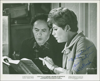 THE TIGER MAKES OUT MOVIE CAST - PRINTED PHOTOGRAPH SIGNED IN INK CO-SIGNED BY: ANNE JACKSON, ELI WALLACH