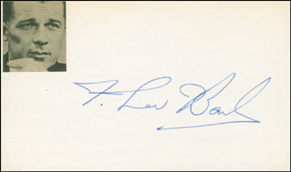 F. Lee Bailey Autographs 295283