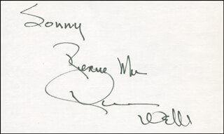 DAWN WELLS - AUTOGRAPH NOTE SIGNED