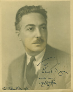 GABRIEL HINES - AUTOGRAPHED INSCRIBED PHOTOGRAPH