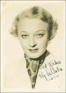 Autographs: PEG LA CENTRA - PHOTOGRAPH SIGNED