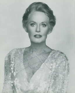 TIPPI HEDREN - AUTOGRAPHED INSCRIBED PHOTOGRAPH