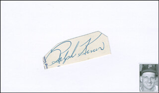 RALPH KINER - CLIPPED SIGNATURE