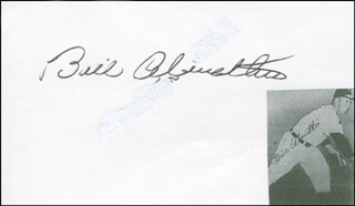 Autographs: BILL ABERNATHIE - SIGNATURE(S)