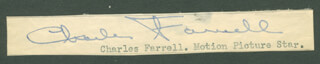 CHARLES FARRELL - CLIPPED SIGNATURE