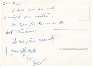 ROBERT F. KENNEDY - AUTOGRAPH LETTER SIGNED