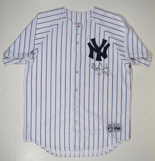 Autographs: ROGER CLEMENS - JERSEY SIGNED