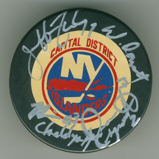 JEFF FINLEY - HOCKEY PUCK SIGNED