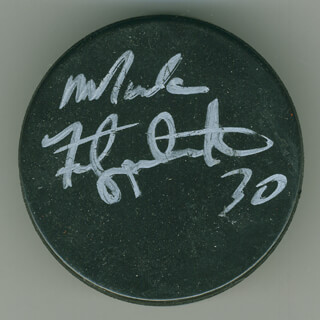 MARK FITZPATRICK - HOCKEY PUCK SIGNED
