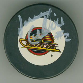 JASSEN CULLIMORE - HOCKEY PUCK SIGNED