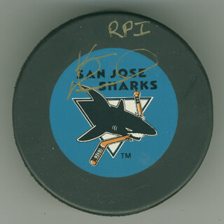 KEVIN CONSTANTINE - HOCKEY PUCK SIGNED