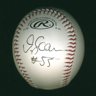 JUNIOR SEAU - AUTOGRAPHED SIGNED BASEBALL
