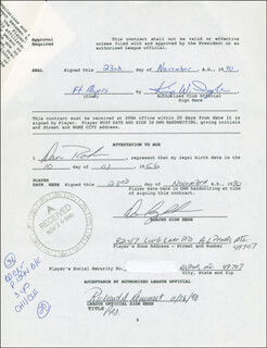 DAN ROHN - CONTRACT SIGNED 11/23/1990