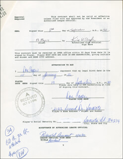 DON COOPER - CONTRACT MULTI-SIGNED 09/11/1990