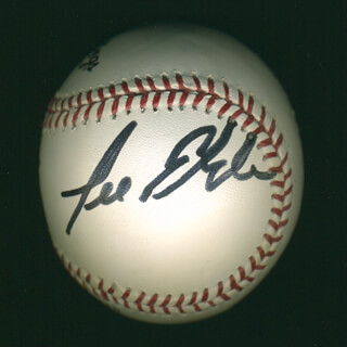 Autographs: LEE ELDER - BASEBALL SIGNED