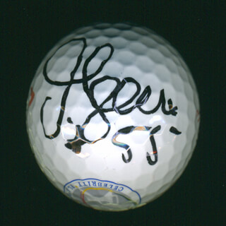 JUNIOR SEAU - GOLF BALL SIGNED