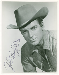 JOHN BROMFIELD - AUTOGRAPHED SIGNED PHOTOGRAPH
