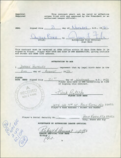 DEREK BOTELHO - CONTRACT MULTI-SIGNED 11/21/1990