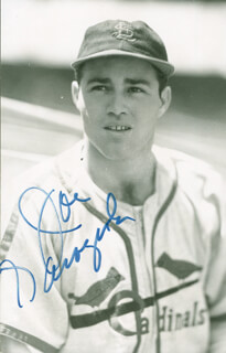 JOE GARAGIOLA - AUTOGRAPHED SIGNED PHOTOGRAPH