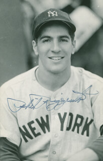 PHIL RIZZUTO - AUTOGRAPHED SIGNED PHOTOGRAPH