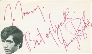 GREGORY ROZAKIS - AUTOGRAPH NOTE SIGNED