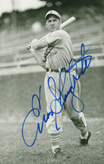 ENOS SLAUGHTER - AUTOGRAPHED SIGNED PHOTOGRAPH
